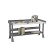 Tennsco Corp. Plastic Laminate Top Workbench