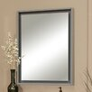"Sagehill Designs Harper 30"" X 38"" Framed Floating Glass Mirror"