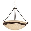 Kalco Aegean 6 Light Bowl Pendant