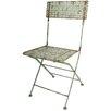 EsschertDesign Industrial Heritage Folding Dining Side Chair