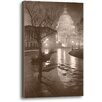 Ashton Wall Décor LLC Liberty's Light by Rod Chase Photographic Print on Wrapped Canvas in Sepia