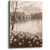 Ashton Wall Décor LLC A Grateful Nation by Rod Chase Photographic Print on Wrapped Canvas in Sepia
