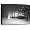 Ashton Wall Décor LLC Winter's Eve by Rod Chase Photographic Print on Wrapped Canvas in Black and White