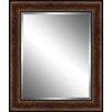 Ashton Wall Décor LLC Traditional Wood Framed Beveled Plate Glass Mirror