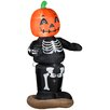 Gemmy Industries Animated Dancing Pumpkin Boy Skeleton Halloween Decoration