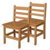 "Wood Designs 15"" Wood Classroom Chair (Set of 2)"