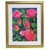 Alpine Art and Mirror Premier Blooming Peony II Framed Painting Print