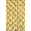 Tommy Bahama Home Atrium Trellis Panel Gold/Ivory Indoor/Outdoor Area Rug