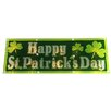 Sienna Lighting Holographic Happy St. Patrick's Day Window Decoration