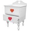 Room Magic Heart Throb 1 Drawer Nightstand