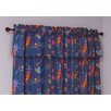 Room Magic Star Rocket Cotton Rod Pocket Curtain Panels (Set of 2)