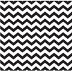 Forest Creations Canvas/Magnet Zig-Zag Framed Wall Art in Black