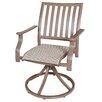 Panama Jack Outdoor Island Breeze Swivel Rocking Dining Arm Chair
