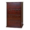 kathy ireland Home by Martin Furniture Huntington Club Four Drawer Lateral  File Cabinet
