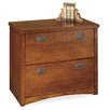 kathy ireland Home by Martin Furniture Mission Pasadena 2-Drawer Lateral File
