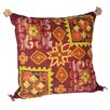Karma Living Embroidery Vintage Cloth Throw Pillow (Set of 2)
