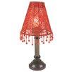Näve Leuchten Tischleuchte 1-flammig Bella in Rot