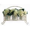Creative Displays, Inc. Spring Additions Hydrangea 3 Pot Carry All