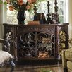 Michael Amini Essex Manor Console Table in Deep English Tea