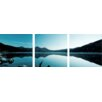 Artistic Bliss Tranquility Lake 3 Piece Photographic Print Set