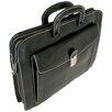 Floto Imports Milano Sleeve Leather Laptop Briefcase