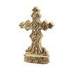 CKK Home Décor, LP Accents of Faith Ceramic Cross Pedestal Sculpture