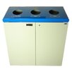Frost Products 45-Gal Three Stream Free Standing Multi Compartment Recycling Bin
