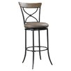 "Hillsdale Furniture Charleston 30"" Swivel Bar Stool with Cushion"