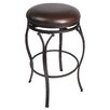 "Hillsdale Furniture Lakeview 24.375"" Swivel Bar Stool with Cushion"