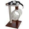 PetFusion Modern Cat Activity Tree & Scratching Post