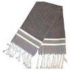 Scents and Feel Fouta Herringbone Stripe Hand Towel