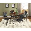 Ultimate Accents Dynasty 5 Piece Dining Set