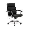 Basyx by HON VL103 Executive Mid-Back Leather Conference Chair
