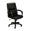 Basyx by HON VL161 Leather Executive Mid-Back Chair