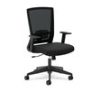 Basyx by HON HVL541 Series High-Back Mesh Task Chair with Arms