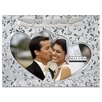 Malden Just Married Double Hearts Picture Frame