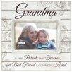 Malden Grandma Sunwashed Wood Picture Frame