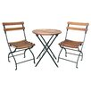 Innova Hearth and Home Uptown 3 Piece Folding Bistro Set