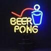 Neonetics Business Signs Beer Pong Neon Sculpture