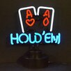 Neonetics Bar & Game Room Hold Em Neon Sign