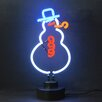Neonetics Business Signs Snowman Neon Sign