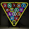 Neonetics Business Signs 15 Ball Rack Neon Sign