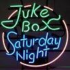 Neonetics Bar & Game Room Juke Box Saturday Night Neon Sign
