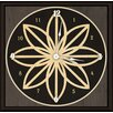 "Green Leaf Art Star 11"" Art Wall Clock"