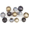Prima 12 Piece Glass Spheres Set