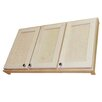 """WG Wood Products Shaker Series 43"""" x 25.5"""" Wall Mounted Cabinet"""