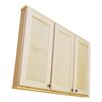 "WG Wood Products Shaker Series 43"" x 37.5"" Wall Mounted Cabinet"