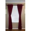 Top Blinds Back Tab Blackout Curtain Set (Set of 2)