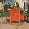 Rugged Ranch Raised Wooden Coop