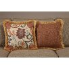 South Sea Rattan Dimone Medium Indoor/Outdoor Sunbrella Throw Pillow